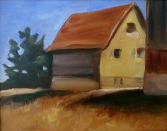 Tucked Away - Oil painting by Jo Appleby