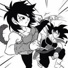 Battle of the two Saiyans