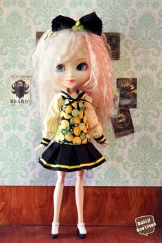 Pullip Citrus Fancy Sailor Set by DollyBoutiquee on Etsy