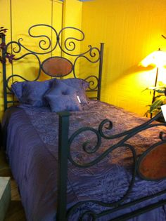 Beautiful Hand Forged Iron Beds