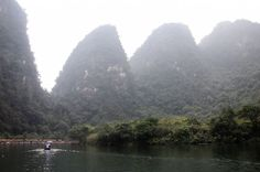 Vietam: Chosen for both its natural and cultural significance, the Trang An Landscape Complex includes striking peaks of limestone karst (pictured) as well as caves, scenic waterways, rice paddies and Hoa Lu, the country's capital in the 10th and 11th centuries.