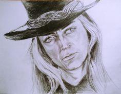 Carl McCoy , pencil, 30x40