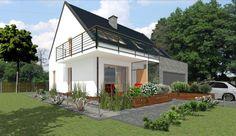 Projekty domów ABCentrum-DOM / Projekt DZP-8