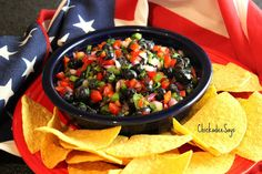 Blueberry Salsa #MeatlessMonday