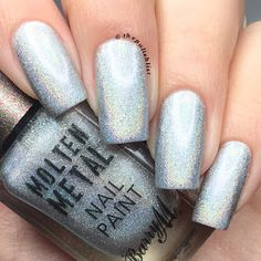 Barry M 2017 Molten Metal Collection - Holographic Lights