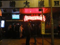 Bar Amazonia in Hong Kong