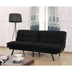 Mainstays Memory Foam Futon, Multiple Colors - Walmart.com