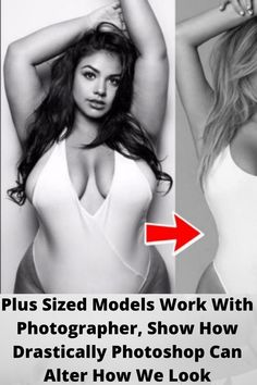 #Plus Sized #Models Work With #Photographer, Show How Drastically #Photoshop Can #Alter How We #Look