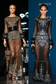 Nicole Richie's delightful dress