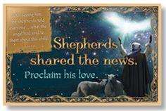 Christmas Bulletin Board Set - Shepherds shared the news.