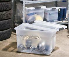 Las cajas de plástico son una solución práctica y económica para solucionar tus problemas de espacio y mantenerlo todo guardado y en orden.
