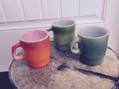 A personal favorite from my Etsy shop https://www.etsy.com/listing/252996067/trio-of-fire-king-mid-century-mugs-cups
