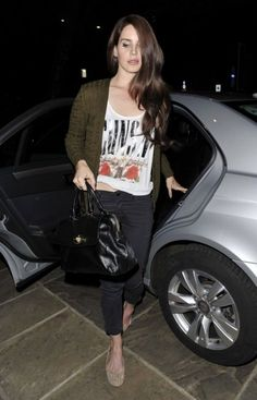 LDR cleans up real good, but you gotta love her street style too. She makes it look so basic and easy.