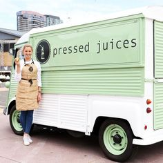 Our vintage F R E N C H cold pressed juice truck is looking like he is ready for his first stop, VAMFF // Hecta, the H - Van will be at the Virgin Australia Melbourne Fashion Festival at Central Pier, Docklands for the entire duration of VAMFF • Arrive a bit earlier to stop and grab a juice before you are dazzled by bright lights and the sweeping of fabric down the runway! H E C T A has what you need, he has cold Pressed Juices // It will Positively Change your night at @vamff