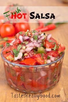 Fresh Hot Salsa