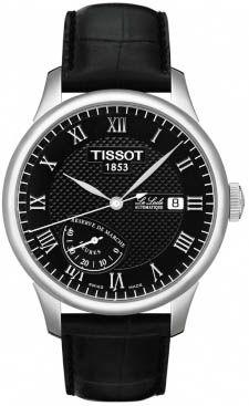 T006.424.16.053.00, T0064241605300, Tissot le locle power reserve watch, mens