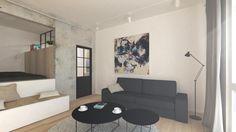 Rekonštrukcia jednoizbového bytu, Nové Mesto, Bratislava | RULES architekti