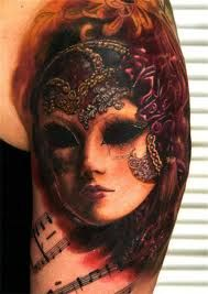 masquerade tattoo - Google Search