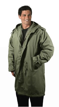 Mens Military Style Winter Parka | Rugged Clothing for Men | Pinterest