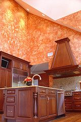 Plaster kitchen by Arlene Mcloughlin