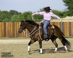 Riding Exercise #14: Leads Exercise  Goal: To be able to yield the horse's hindquarters from the canter, and then immediately canter off again on the correct lead in the opposite direction.  More about the exercise: https://www.downunderhorsemanship.com/Store/Search/intermediate