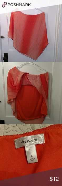 Blouse This top sits off the shoulder on one side. Classy and sexy at the same time. Dress Barn Tops