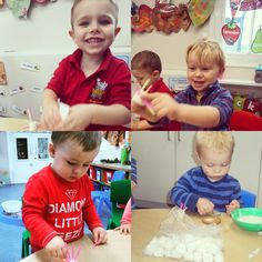 This morning the Loganberries have been decorating spider biscuits by sticking straws in the marshmallows before icing them onto their biscuits #MakingLinks