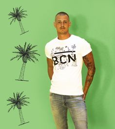 Barcelona Tshirt by Jossart in collab with #communeandmemoir --------------------- See more: www.jossart.com