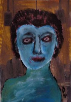 Outsider Art, The Outsiders, Portraits, Painting, Painting Art, Head Shots, Paintings, Portrait Photography, Painted Canvas