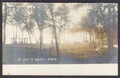 Blake's Hotel Park-Alexandria, MN-RPPC-Photo Postcard | eBay
