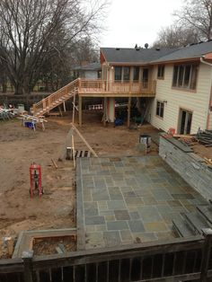 Marc's deck and patio