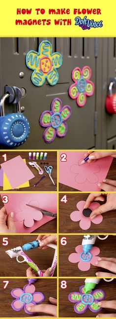We all remember our first school locker. Check out how to make a DohVinci locker magnet here!