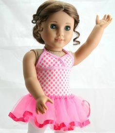 Easy doll tutu, free tutorial