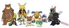 pokemon star wars.