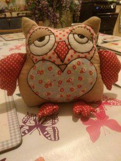 Door stop owl i made x