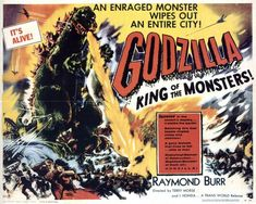 Godzilla, King of the Monsters!  What started it all in 1956 in a grainy black & white film - man I loved it!