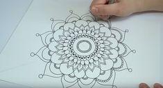 come disegnare mandala perfetti tutorial con spiegazioni
