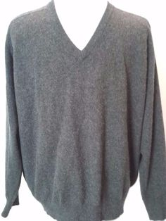 Lands' End Men's M Pure 100% Cashmere Sweater Vest Size Medium ...