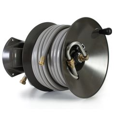 The Highest Rated Garden Hose Reel On The Market. Configure For Parallel Or  Perpendicular