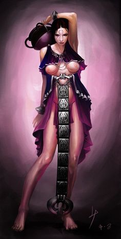 Aphrodite God of War Anime Girl Hot, Manga Girl, Fantasy Warrior, Fantasy Girl, Aphrodite, Pathfinder Character, Kratos God Of War, Marvel Comics Art, Manga Illustration