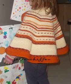 Tuto - comment tricoter une cape en commençant par l' encolure