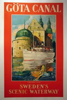 The Poster Lady-Vintage Travel Airline Location Posters Old Poster, Poster Vintage, Vintage Travel Posters, Travel Ads, Travel Images, Travel Europe, European Travel, Art Deco Paintings, Tourism Poster