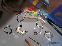 Schmuckstücke aus der Kollektion it´s jewel art von Andreas Ableitner #ableitner