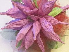 Flower from paper rope Twistart | Fair Masters - handmade, handmade