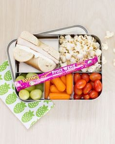 Lunch Box foods for all around nourishment and will probably get mommy points from the little ones.