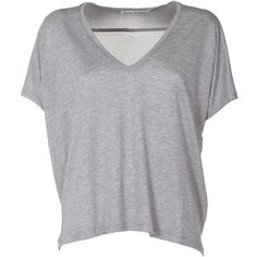 Acne Studios Kileo Jersey T-Shirt (1.965 ARS) ❤ liked on Polyvore featuring tops, t-shirts, shirts, blusas, t shirt, grigio, v-neck shirt, grey t shirt, jersey shirt and short sleeve t shirt