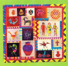 Ca Missions Quilts Mission Churches Of New Mexico Quilt