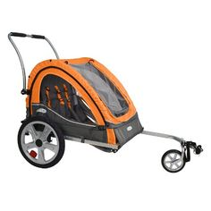 $126.80-$119.99 Baby Get out there. Keep your toddler safe, dry and comfortable in the Quick N EZ trailer. The is the best value around for recreational cyclists who want to ride as a family. Simple design folds compactly for easy storage and transportation.