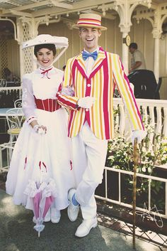 everythingisdisney:  Mary Poppins and Bert by amy catherine on Flickr.