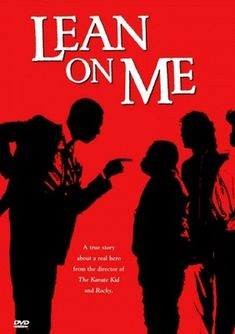 Lean on Me movie poster (1989)